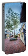 Downtown Of Newport Rhode Island At Dusk Hours Portable Battery Charger