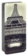 Eiffel Tower By The Seine Portable Battery Charger