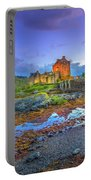 Eilean Donan Twilight Portable Battery Charger