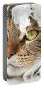 Face Sleeping Cat Portable Battery Charger