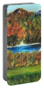 Fall In The Adirondacks Portable Battery Charger