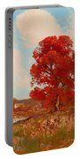 Fall Landscape Portable Battery Charger