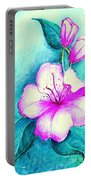 Fantasy Flowers Portable Battery Charger