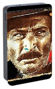 Film Homage Lee Van Cleef Spaghetti Westerns Publicity Photo Collage 1966-2008 Portable Battery Charger
