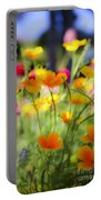 Flowering Garden Portable Battery Charger