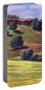 Flowering Meadow Portable Battery Charger