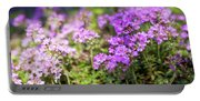 Flowering Thyme Portable Battery Charger