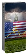 Fracking In The U.s Portable Battery Charger