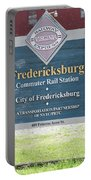 Fredericksburg Rail Station Portable Battery Charger