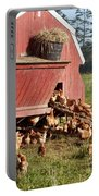 Free Range Chickens Portable Battery Charger
