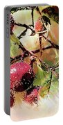 Fruit Of The Wild Rose Portable Battery Charger