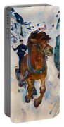 Galloping Horse Portable Battery Charger