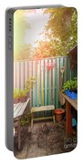 Garden Potting Table Portable Battery Charger