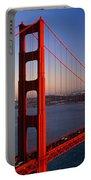 Golden Gate Bridge San Francisco Ca Portable Battery Charger