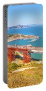 Golden Gate Bridge Vista Point Portable Battery Charger