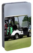Golfing Golf Cart 04 Portable Battery Charger