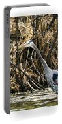 Great Blue Heron Fishing Portable Battery Charger