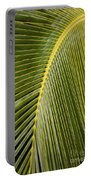Green Palm Leaf Portable Battery Charger