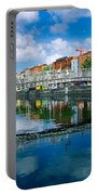 Hapenny Bridge, River Liffey, Dublin Portable Battery Charger
