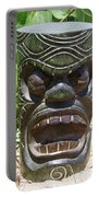 Hawaiian Tiki God Ku Portable Battery Charger
