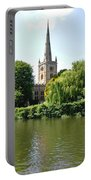 Holy Trinity Church At Stratford-upon-avon Portable Battery Charger