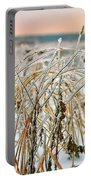Ice On Branches Portable Battery Charger