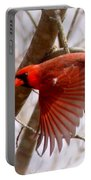 Img_0001 - Northern Cardinal Portable Battery Charger