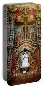 Interior Statue - San Xavier Mission - Tucson Arizona Portable Battery Charger