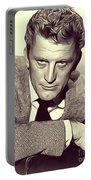 Kirk Douglas, Vintage Actor Portable Battery Charger