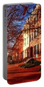 La Fayette Park In Autumn Portable Battery Charger