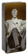 Lincoln Statue Portable Battery Charger