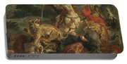 Lion Hunt Portable Battery Charger