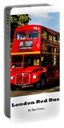 London Red Bus. Portable Battery Charger