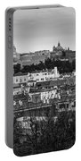 Madrid Panorama From Debod Lookout Madrid Spain Portable Battery Charger