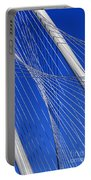 Margaret Hunt Hill Bridge In Dallas - Texas Portable Battery Charger