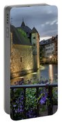 Medieval Jail In Annecy Portable Battery Charger