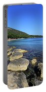 Mediterranean Seascape  Portable Battery Charger