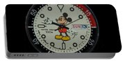 Mickey Mouse Watch Face Portable Battery Charger