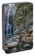 Millomeris Waterfall - Cyprus Portable Battery Charger