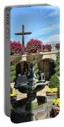 Mission Inn Chapel Courtyard Portable Battery Charger
