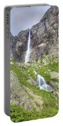 Mountain Waterfall Portable Battery Charger