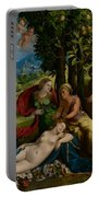 Mythological Scene Portable Battery Charger