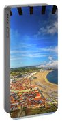 Nazare Portugal Skyline Portable Battery Charger