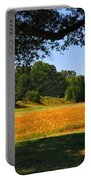 Ncdot Wildflowers Portable Battery Charger