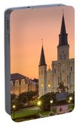 New Orleans St Louis Cathedral Portable Battery Charger
