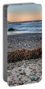 Cayucos State Beach Flotsam Pano Portable Battery Charger