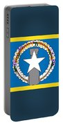 Northern Marianas Flag Portable Battery Charger