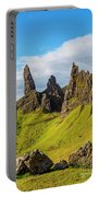 Old Man Of Storr, Isle Of Skye, Scotland Portable Battery Charger