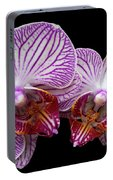2 Orchids Portable Battery Charger