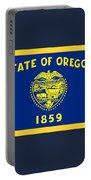 Oregon Flag Portable Battery Charger